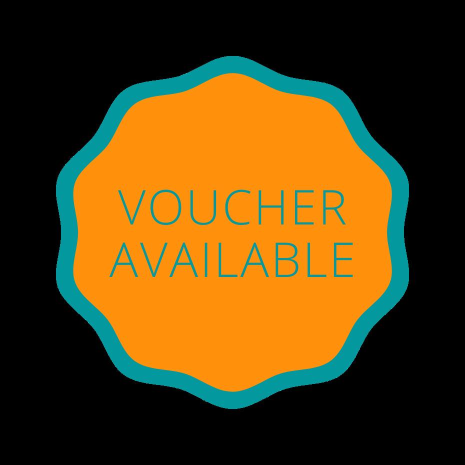 voucher available